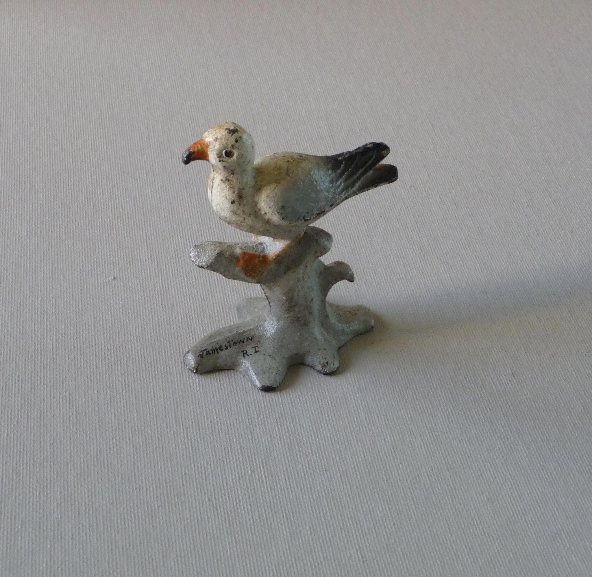 vintage cast iron seagull souvenir bottle opener from charlottesantiquesandcollectibles on ruby lane. Black Bedroom Furniture Sets. Home Design Ideas