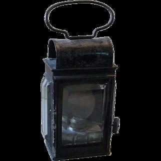 Vintage Railway, Maritime or Miners Handheld Lantern
