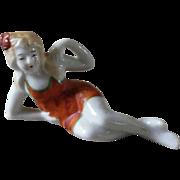 Vintage Bathing Beauty Figurine