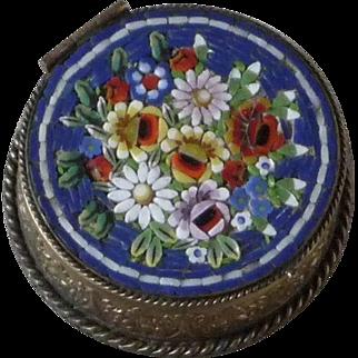 Vintage Micro Mosaic Pillbox