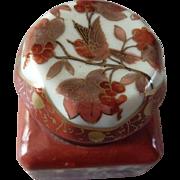 Vintage Porcelain Inkwell