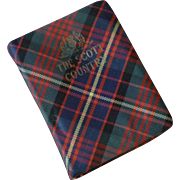 "Miniature Tartan Book ""The Scott country by Oliphant Smeaton"""