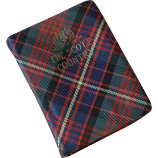 "Tartan Book ""The Scott country by Oliphant Smeaton"""
