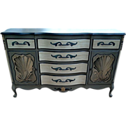 French Hand Painted Buffet Sideboard Server
