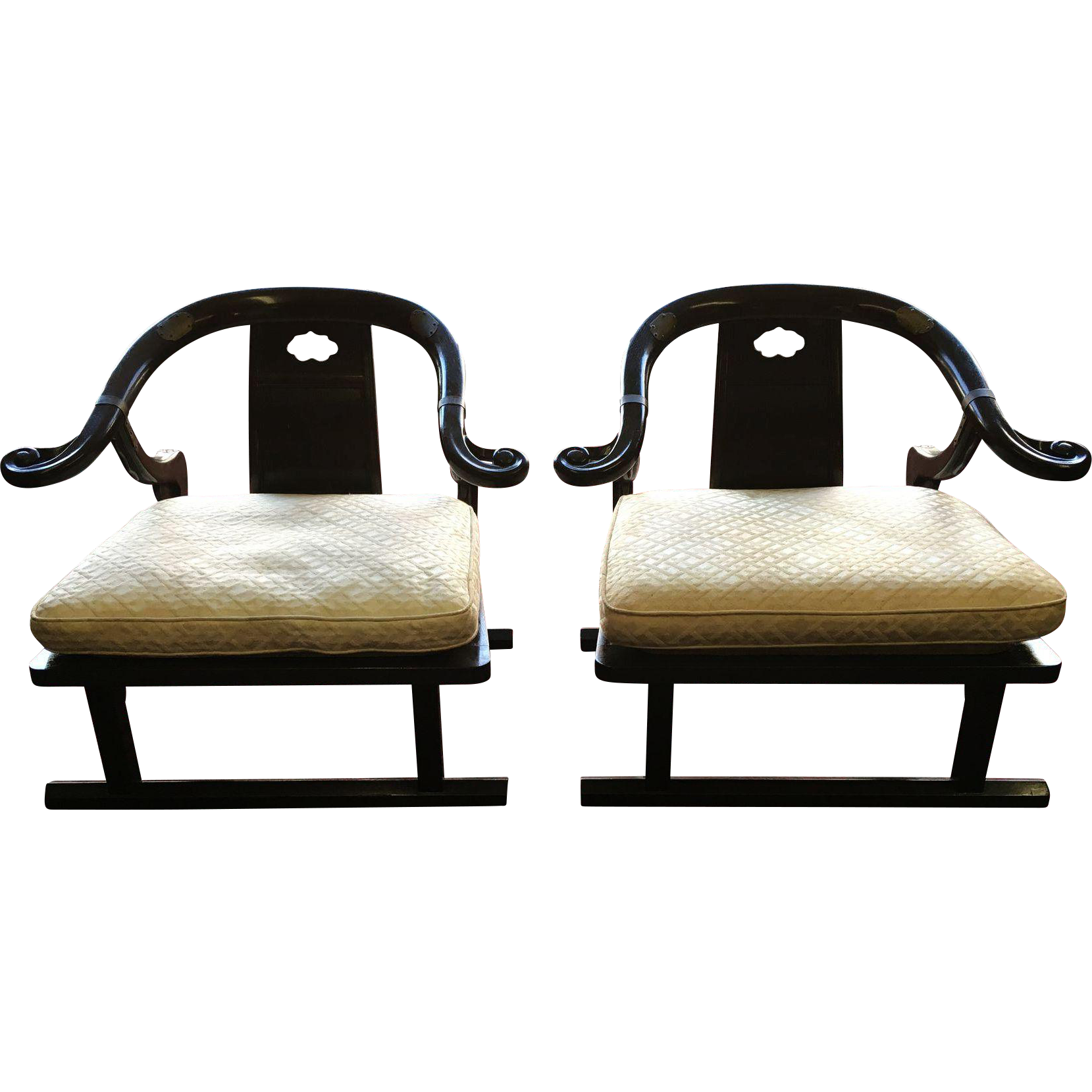 Baker Furniture Far East Collection Arm Chairs 2510 By Michael Taylor From Themoodycarpenter On