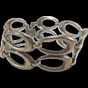 Symmetalic Sterling & Gold Filled MCM Bracelet