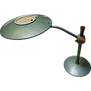 Dazor Flying Saucer or Spaceship Style Lamp Model 2008