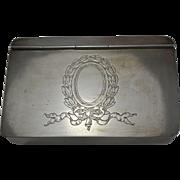 Reed & Barton Sterling Silver Hinged Box