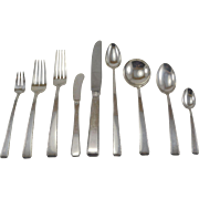 """""""Old Lace"""" Sterling Silver Flatware Set by Towle Service for 8"""
