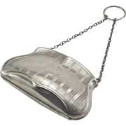 English Sterling Silver Chatelaine/Dance Purse 1917