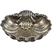 Large Missiaglia 800 Silver Shell Dish