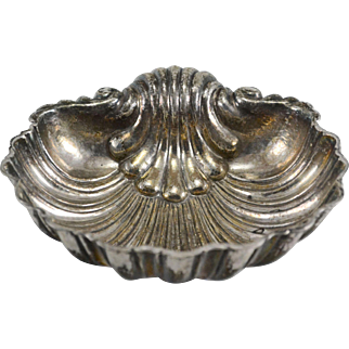Large Missiaglia 800 Silver Shell Dish