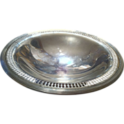 Reed & Barton Sterling Silver Tazza with Pierced Edge