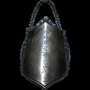 800 Silver Bourbon Liquor Bottle Label Decanter Tag