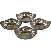 Gorham Sterling Silver Pierced Nut Bowls/Dishes/Cups