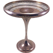 Tall Gorham Sterling Silver Compote or Tazza