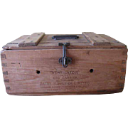 Victorian Egg Carrier Box c.1898