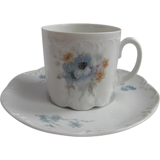 Rosenthal Germany Demitasse Cup and Saucer for Danbury Mint