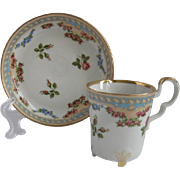 Bareuther Germany Demitasse Cup and Saucer for Danbury Mint