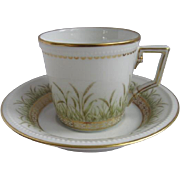 Kaiser Germany Demitasse Cup and Saucer for Danbury Mint