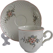 Villeroy & Boch Germany Demitasse Cup and  Saucer for Danbury Mint