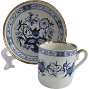 Royal Franconia Germany Demitasse Cup and Saucer for Danbury Mint