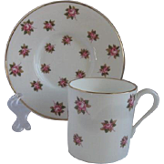 Aynsley England Demitasse Cup and Saucer for Danbury Mint