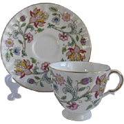 Minton England Demitasse Cup and Saucer for Danbury Mint
