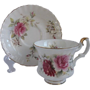Royal Albert England Demitasse Cup and Saucer for Danbury Mint