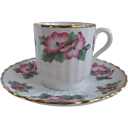 Spode England Demitasse Cup and Saucer for Danbury Mint