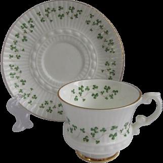 Royal Tara Ireland Demitasse Cup and Saucer for Danbury Mint