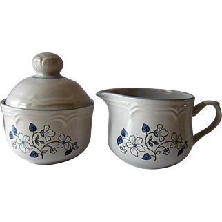 The Covington Edition Japan Avondale Creamer and Sugar with Lid