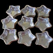 Vintage 1950's Star Jello/Dessert Aluminum Molds