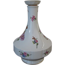 Vintage Haviland Limoges France Chantilly Pattern Porcelain Decanter With Stopper - Red Tag Sale Item