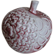 Vintage Arabia Made  in Finland Decorative Ceramic Apple