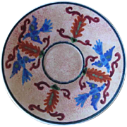 Keramikos Greece Hand Made and Hand Painted Ceramic Plate