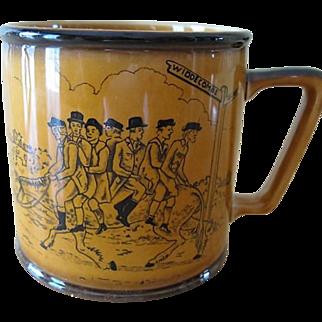 Crown Devon Fieldings Staffordshire England Widdecombe Fair Mug