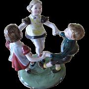Stefan Dakon For Royal Belvedere Austrian Girls and Boy Figurine