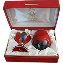 Royal Doulton Flambe Egg Limited Edition in Presentation Box