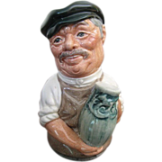 Royal Doulton Doultonville Albert Sagger The Potter Toby Jug D 6745