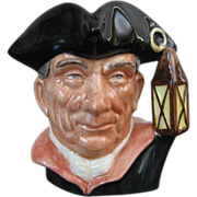 Royal Doulton, Night Watchman, D 6576, Small Character Jug