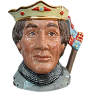 Royal Doulton Henry V Large Character Jug D 6671 Early Edition