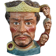 Royal Doulton MacBeth Large character Jug D6667