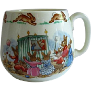 Royal Doulton Bunnykins One Handle Mug Punch & Judy