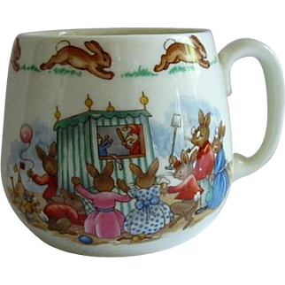 Royal Doulton Bunnykins One Handle Mug Punch & Judy