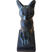 1965 Austin Productions Egyptian Cat Sculpture