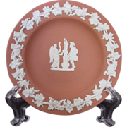 Wedgwood  Jasperware 1959 Terra Cotta Pin Dish