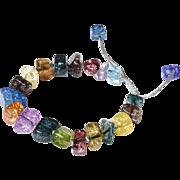 Fancy Multicolour Bracelet from Glass