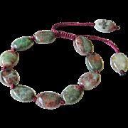 Green-Red Garnet Bracelet 2