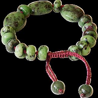 Ruby-Zoisite Bracelet 2